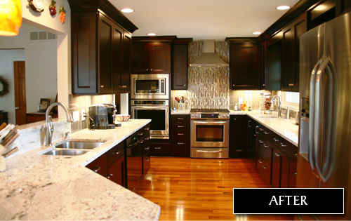 You'll be glad you chose Drexel Interiors for your kitchen and bathroom remodeling project.