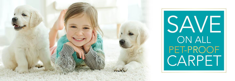 Pet Proof Carpet On Sale Now! Start Saving Today!